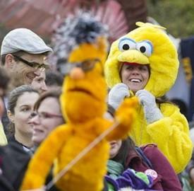 D.C.'s 'Million Puppet March' To Save PBS