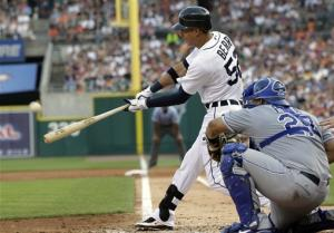 Smyly strikes out 10 in Tigers win over Royals