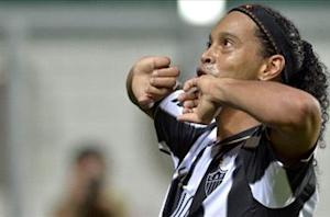 Ronaldinho hoping Confederations Cup break aids Atletico Mineiro