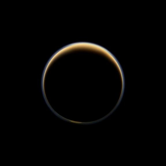 NASA Finds Ingredient for Plastic on Saturn's Moon Titan