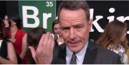 Bryan Cranston Got a Breaking Bad Tattoo