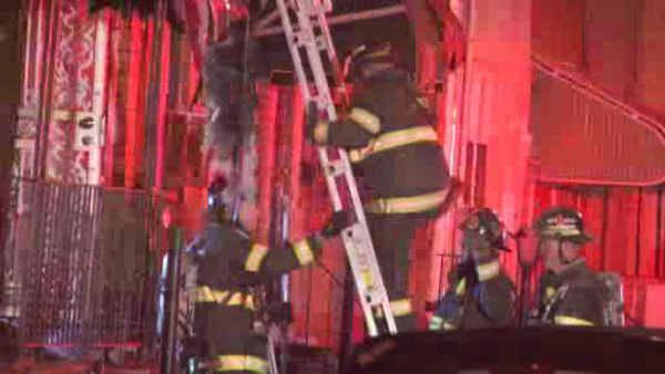 South Philly fire leaves girl seriously injured