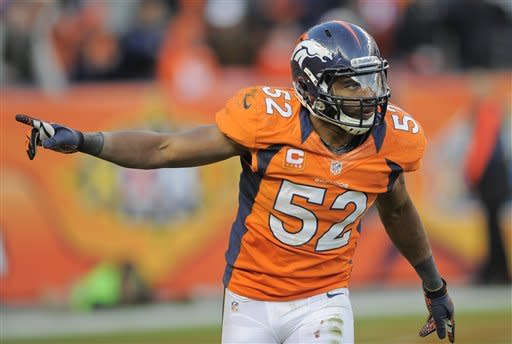 Manning's 3 TDs lead Broncos to 34-12 win