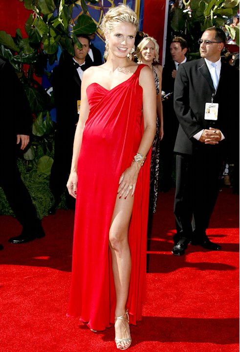Heidi Klum at The 58th Annual Primetime Emmy Awards.