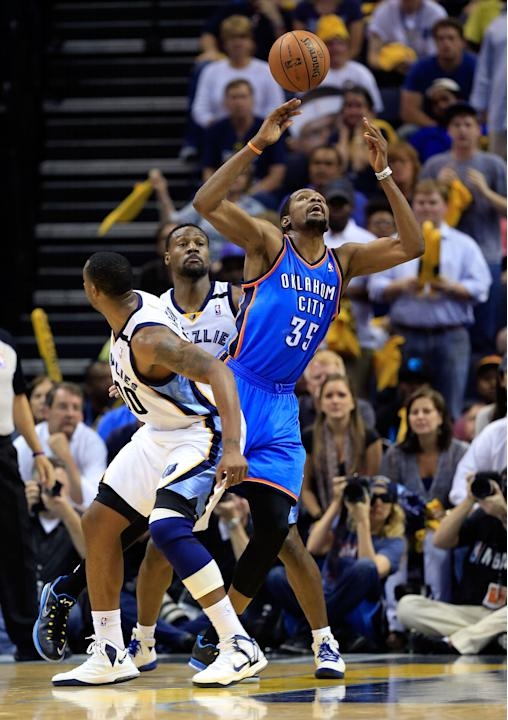Oklahoma City Thunder v Memphis Grizzlies - Game Four