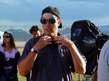 Director Peter Segal on the set of Paramount Pictures' The Longest Yard