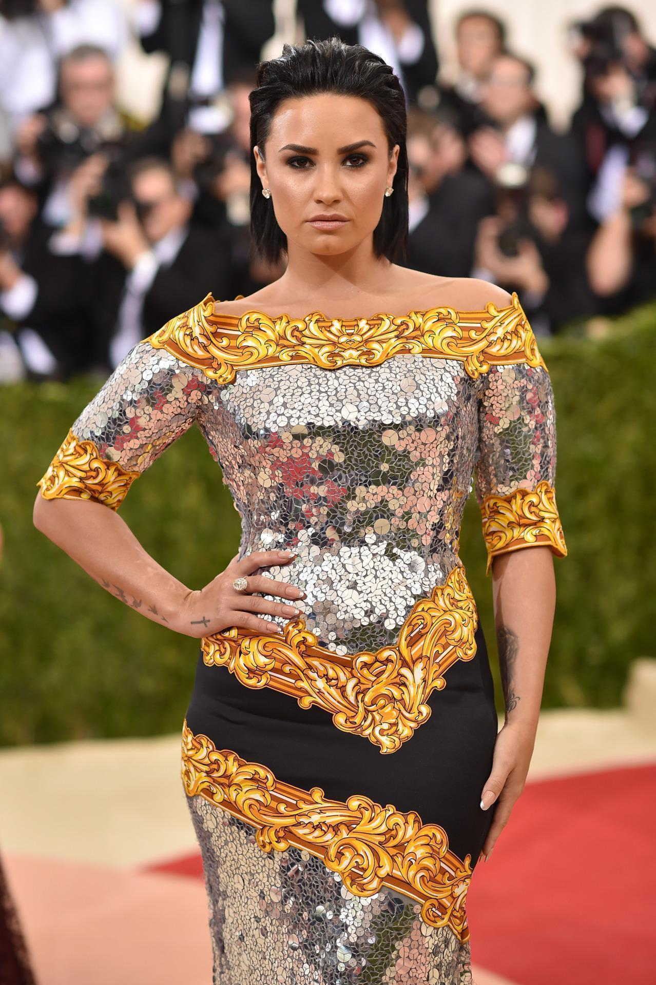 Demi Lovato Did Not Have Fun at Her First Met Gala 😭