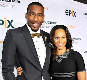 Amar'e Stoudemire's Wife Alexis Welch Gives Birth to Baby Boy!