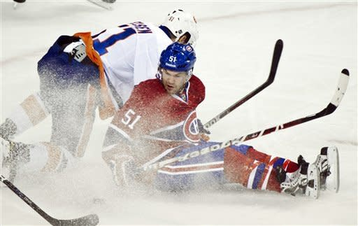 Canadiens bounce back to beat Islanders, 5-3