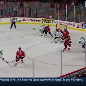 Karri Ramo Save on John Klingberg (02:22/1st)