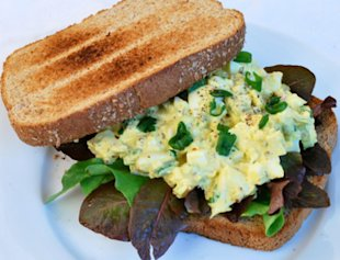 Egg Salad for Grown-Ups