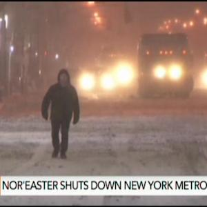 NYC Snow Day: Storm Stops City That Never Sleeps