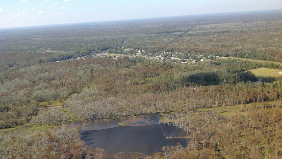 Quite a Jolt: Earthquakes Heralded Opening of Sinkhole
