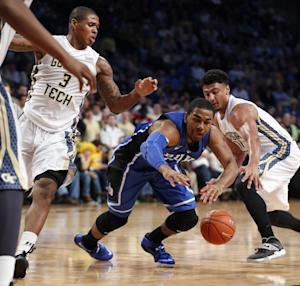 Parker leads No. 5 Duke past Georgia Tech, 68-51
