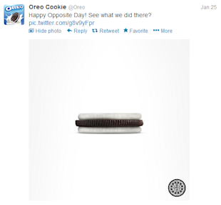 @OREO: The Tasty Voice of the Twitter Generation image oreo opposite