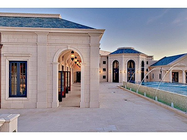 One tycoon is selling two of America's priciest mansions bradbury exterior fountains