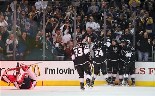 LA Kings end scoring drought, rout Capitals 5-2