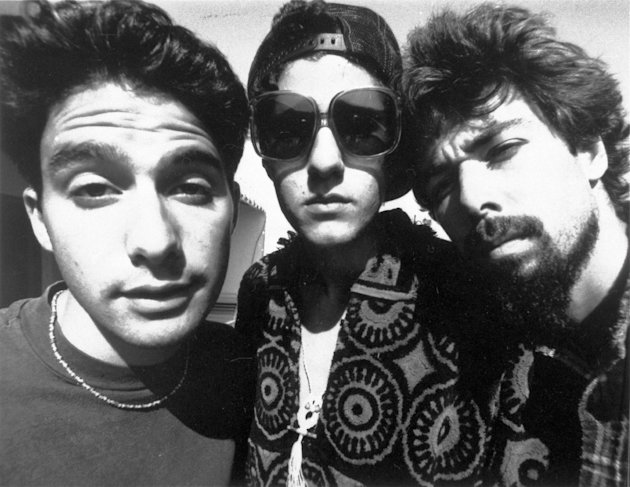 FILE - In this 1989 file photo originally provided by Capitol Records, members of the Beastie Boys, from left, from left, Adam Horovitz, known as Adrock, Michael Diamond, known as Mike D and Adam Yauc