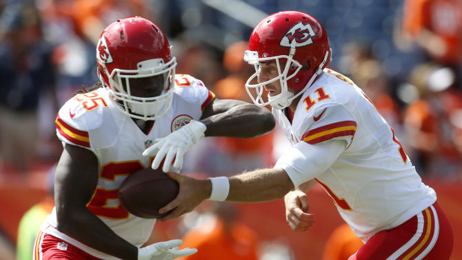 Chiefs down 7 starters to injuries, suspensions