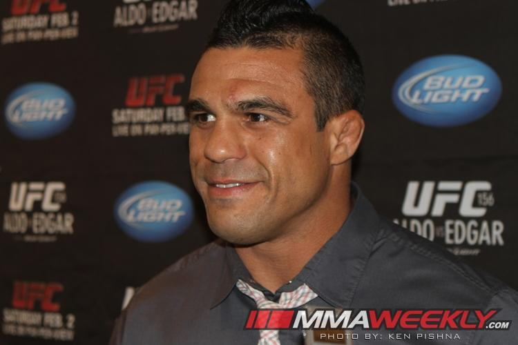 """Unless Something Crazy Happens,"" Vitor Belfort Gets Winner of Chris Weidman vs. Anderson Silva"