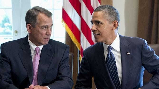 Report on Obama's Law-Breaking Prisoner Swap Gives Boehner Schadenfreude