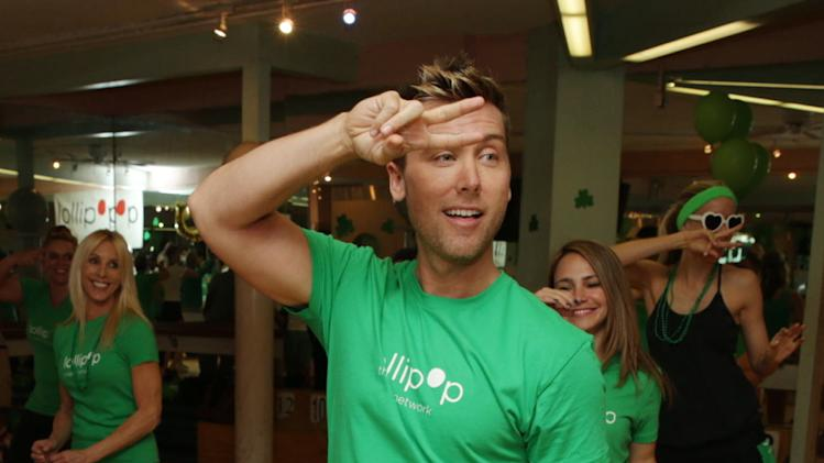 Lance Bass at St. Patty's Day Slimdown benefiting the Lollipop Theatre Network held at Slimmons on Sunday, Mar., 17, 2013 in Beverly Hills, CA. (Photo by Eric Charbonneau/Invision for Lollipop Theatre Network/AP Images)