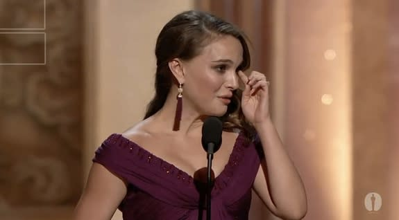 Tears Flow More Freely In Today's Oscar Speeches