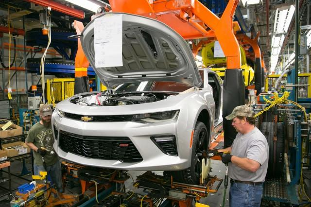 Michigan's Lansing Grand River Plant Gears Up For 2016 Chevy Camaro Production