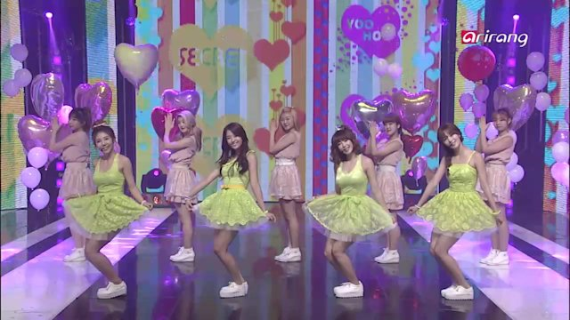 Simply K-Pop : Secret - YooHoo