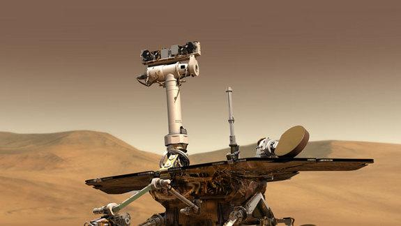 Mars Rover Opportunity Back in Action After Glitch
