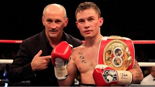 Boxing - Frampton eyes world glory after Martinez KO