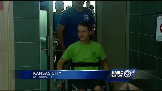 Teen injured in Spring Break accident returns home to KC