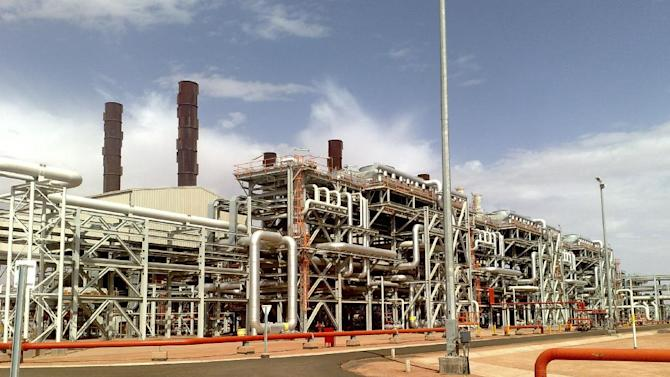 In this undated image released Wednesday Jan. 16, 2013, by BP petroleum company, showing the Amenas natural gas field in the eastern central region of Algeria, where Islamist militants raided and took hostages Wednesday Jan. 16, 2013.  Islamist militants from Mali attacked a natural gas field partly operated by BP in southern Algeria early on Wednesday, killing a security guard and kidnapping at least eight people, including English, Norwegian and Japanese nationals, an Algerian security official and local media reported. Algerian forces, later caught up with and surrounded the kidnappers and negotiations for the release of the hostages are ongoing, officials said.(AP Photo/BP)