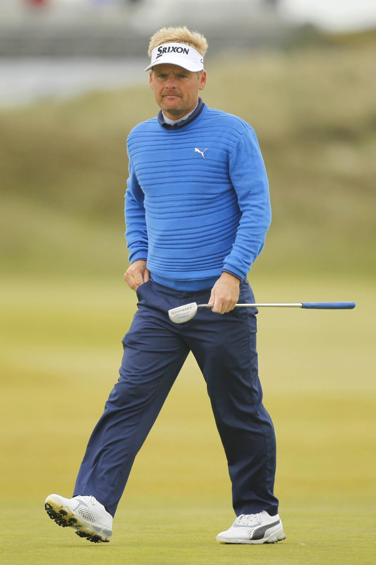 Denmark's Kjeldsen shoots 67, takes 2-stroke Irish Open lead