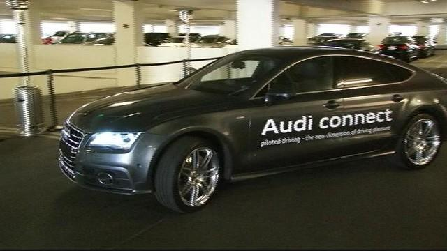 CES in 60: Audi Piloted Parking