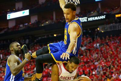 Stephen Curry's fall nearly ruined the Warriors' fragile championship dreams