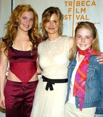 April Mullen, Kyra Sedgwick and Regan Arnold Tribeca Film Festival, May 4, 2004