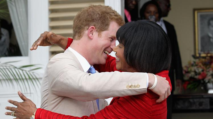 Prince Harry Tours Jamaica To Mark Queen Elizabeth II's Diamond Jubilee