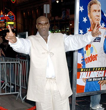Michael Clarke Duncan at the LA premiere of Columbia's Talladega Nights: The Ballad of Ricky Bobby