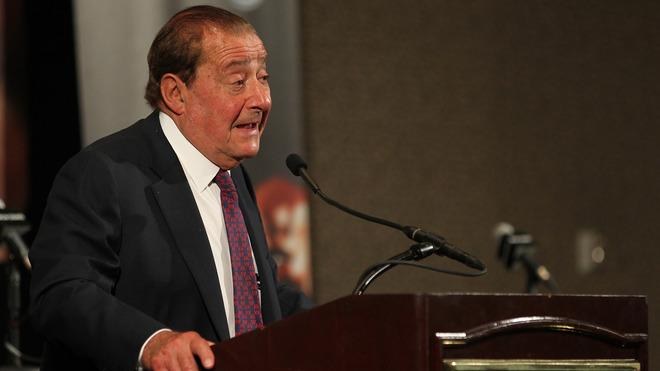 Top Rank Promoter Bob Arum Addresses Getty Images