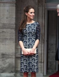 What to wear for the Queen's official birthday? Well if you're The Duchess of Cambridge