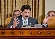 "House Budget Committee Chairman Rep. Paul Ryan, R-Wis., speaks on Capitol Hill in Washington, Tuesday, July 10, 2012, as the House Ways and Means Committee held a hearing on the implications of the Supreme Court's ruling that the individual mandate in the ""Affordable Care Act"" is constitutional, particularly as it relates to Congress' authority to lay and collect new taxes. (AP Photo/J. Scott Applewhite)"