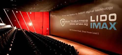 The spanking new lido imax theatre singapore s first picture