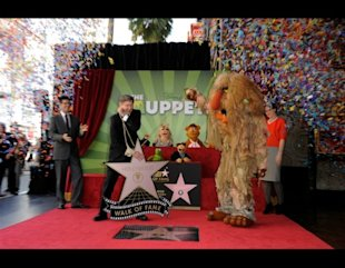 Muppets walk of fame