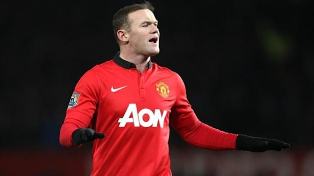Manchester United striker Wayne Rooney (PA Photos)