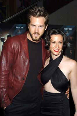 Premiere: Ryan Reynolds and Alanis Morissette at the New York premiere of MGM's De-Lovely - 6/21/2004