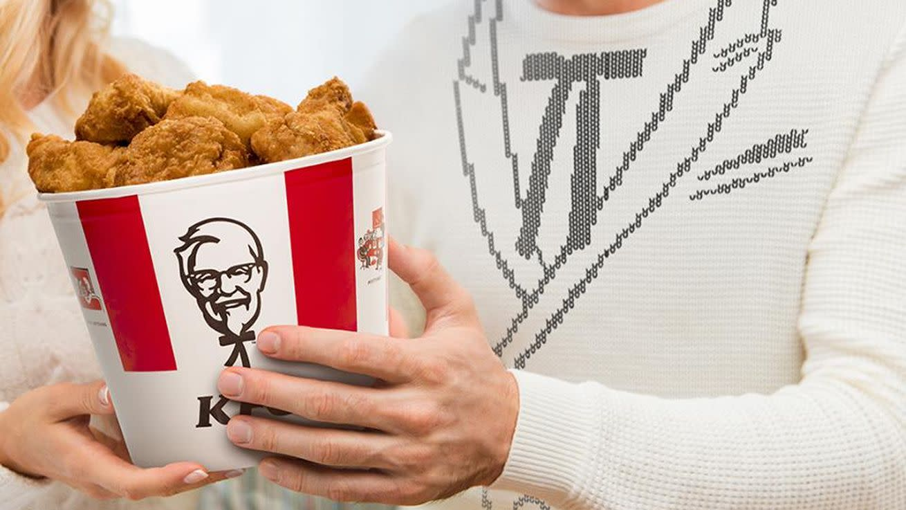 Valentine's Day at KFC Involves Linen Napkins and a Soft Drink Sommelier