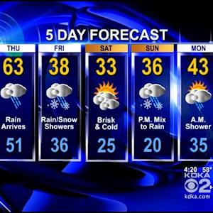 KDKA-TV Evening Forecast (12/4)