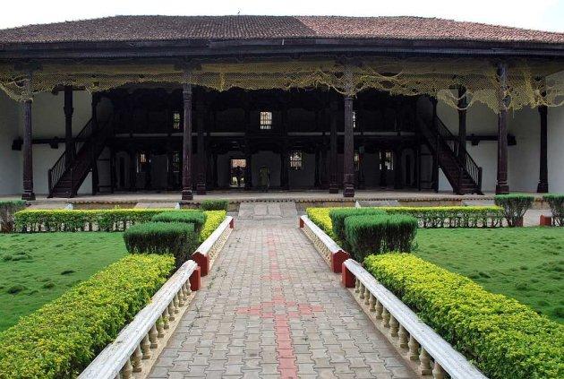 <p>The Shivappa Nayak Palace in Shivamogga, Karnataka.</p>