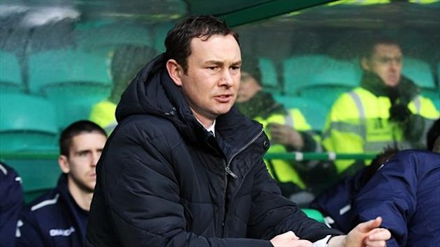 Derek Adams was not happy with his team's performance against Partick